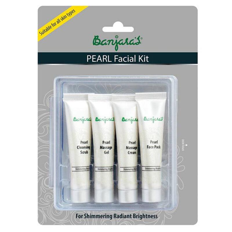 Banjara's pearl facial kit