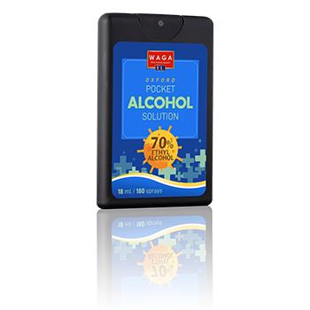 Pocket alcohol sanitizer