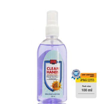 Clean hands hand sanitiser