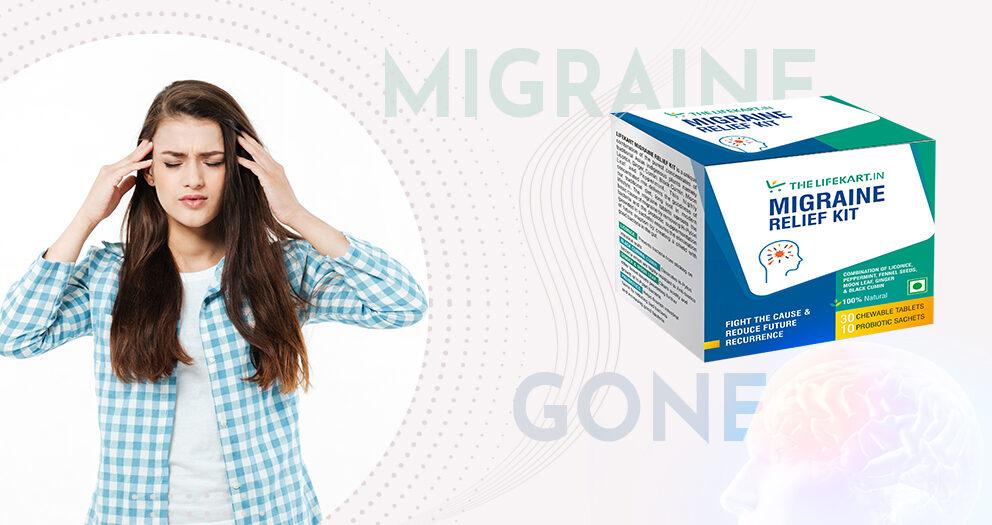 Migraine Relief kit box